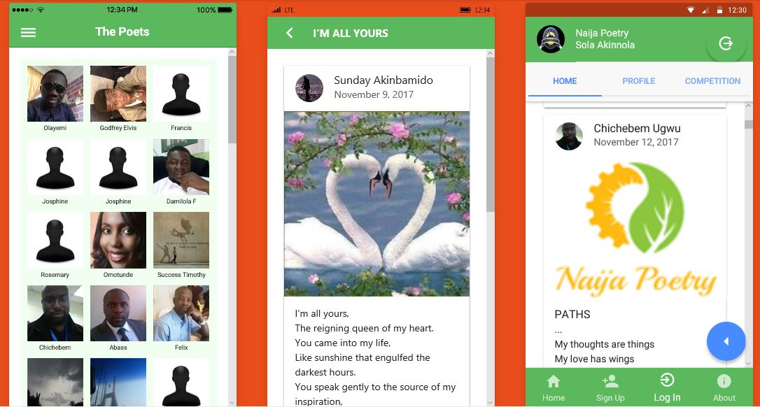 Naija Poetry Mobile App