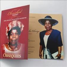 in memory of mrs a. o. oloniyo